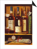 Malt Whiskey Poster by Raymond Campbell