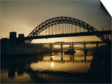 Tyne Bridge, Newcastle-Upon-Tyne, Tyneside, England, UK, Europe Art by Geoff Renner