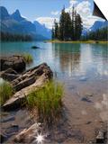 Spirit Island, Maligne Lake, Jasper National Park, UNESCO World Heritage Site, British Columbia, Ro Art by Martin Child
