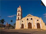 Colonial Church in Remedios, Cuba, West Indies, Caribbean, Central America Prints