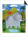 Nellie the Elephant Plakater af Sophie Harding