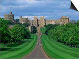 Long Walk from Windsor Castle, Berkshire, England, United Kingdom, Europe Art by Woolfitt Adam