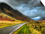 Glencoe, Highlands, Scotland, Uk Prints by David Wogan