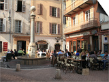 Old Town, Vieil Antibes, Antibes, Cote D'Azur, French Riviera, Provence, France, Europe Print by Wendy Connett