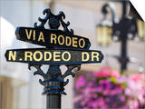 Rodeo Drive, Beverly Hills, Los Angeles, California, United States of America, North America Print by Gavin Hellier