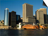 Staten Island Ferry, Business District, Lower Manhattan, New York City, New York, USA Prints by Robert Harding