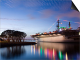 USS Midway Aircraft Carrier Museum, San Diego, California, United States of America, North America Print by Richard Cummins