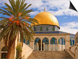 Dome of the Rock, Jerusalem, Israel, Middle East Prints by Michael DeFreitas