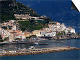 View of Amalfi, Amalfi Coast, Campania, Italy, Europe Print