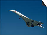 Concorde in Flight Prints by Ian Griffiths