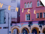 Downtown Venice Beach, Los Angeles, California, United States of America, North America Art by Richard Cummins