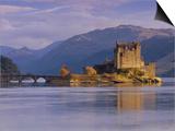 Eilean Donan Castle, Loch Duich, Highland Region, Scotland, UK, Europe Posters by Gavin Hellier
