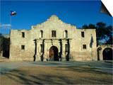 The Alamo, San Antonio, Texas, USA Poster by Walter Rawlings