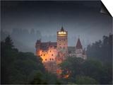 Bran Castle (Dracula Castle), Bran, Transylvania, Romania, Europe Posters by Marco Cristofori