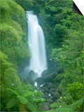 Trafalgar Falls, Roseau Valley, Morne Trois Pitons National Park, UNESCO World Heritage Site, Domin Art by Kim Walker