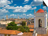 View Over Camaguey, Cuba, West Indies, Caribbean, Central America Prints