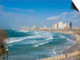 Tel Aviv, Israel, Middle East Art by Michael DeFreitas