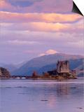 Eilean Donan (Eilean Donnan) Castle, Dornie, Highlands Region, Scotland, UK, Europe Prints by Gavin Hellier