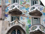 Casa Batllo By Gaudi, Barcelona, Catalonia, Spain, Europe Print by Richard Cummins