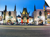 Grauman's Chinese Theatre, Hollywood Boulevard, Los Angeles, California, United States of America,  Prints by Gavin Hellier