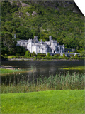 Kylemore Abbey and Lake, Connemara, County Galway, Connacht, Republic of Ireland, Europe Posters by Richard Cummins
