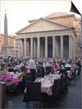 Rotonda Square and Pantheon, Rome, Lazio, Italy, Europe Prints by Marco Cristofori