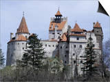 Bran Castle, (Dracula's Castle), Bran, Romania, Europe Prints by Occidor Ltd