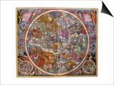 Celestial Chart, 1661 Prints