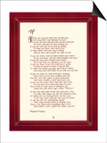 If Poster by  Rudyard Kipling