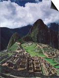 Machu Picchu Print by David Nunuk