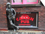 John Lennon Sculpture, Mathew Street, Liverpool, Merseyside, England, United Kingdom, Europe Prints by Wendy Connett