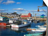 Rockport Harbor, Cape Ann, Greater Boston Area, Massachusetts, New England, USA Prints by Richard Cummins
