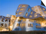 Cleveland Clinic Lou Ruvo Center For Brain Health, Architect Frank Gehry, Las Vegas, Nevada, USA Posters by Richard Cummins