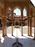 Alhambra, UNESCO World Heritage Site, Granada, Andalusia, Spain, Europe Prints by Hans-Peter Merten