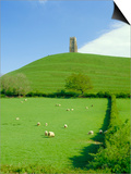 Glastonbury Tor, Glastonbury, Somerset, England, UK Posters by Christopher Nicholson