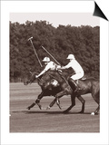 Polo In The Park III Art by Ben Wood
