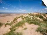 Sand Dunes on Beach, Formby Beach, Lancashire, England, United Kingdom, Europe Posters by Jean Brooks