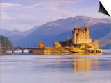 Eilean Donan (Eilean Donnan) Castle, Dornie, Highlands Region, Scotland, UK, Europe Posters by Gavin Hellier