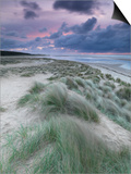 A Moody Spring Evening at Holkham Bay, Norfolk Posters by Jon Gibbs