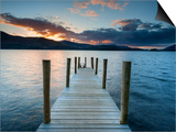 Ashness Jetty, Barrow Bay, Derwent Water, Keswick, Lake District Nat'l Park, Cumbria, England Prints by Chris Hepburn