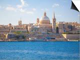 Valletta, Malta, Mediterranean, Europe Poster by Billy Stock