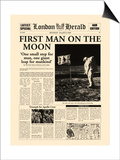 First Man on the Moon Posters by  The Vintage Collection