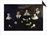 Women Regents of the Haarlem Almshouse Posters by Frans Hals