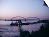 Mississippi River, Memphis, Tennessee, United States of America (U.S.A.), North America Prints by Ursula Gahwiler