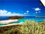 Balos Beach, Gramvousa, Crete, Greek Islands, Greece, Europe Prints by Sakis Papadopoulos