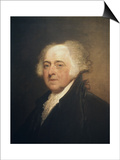 John Adams Prints by Gilbert Stuart