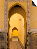 Mausoleum of Moulay Ismail, Meknes, Morocco, North Africa, Africa Prints by Marco Cristofori