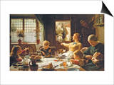 One of the Family Print by Frederick George Cotman