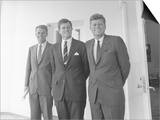 Digitally Restored Photo of President John Kennedy with His Brothers Prints