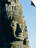 The Bayon Temple, Angkor Wat, Angkor, Siem Reap, Cambodia, Asia Prints by Bruno Morandi